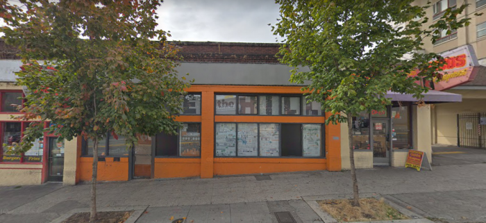 Capitol Hill Housing plans to build LGBTQ senior housing at their 1514 Broadway site on Capitol Hill immediately north of the gay nightclub, Neighbours. Photo via Google maps
