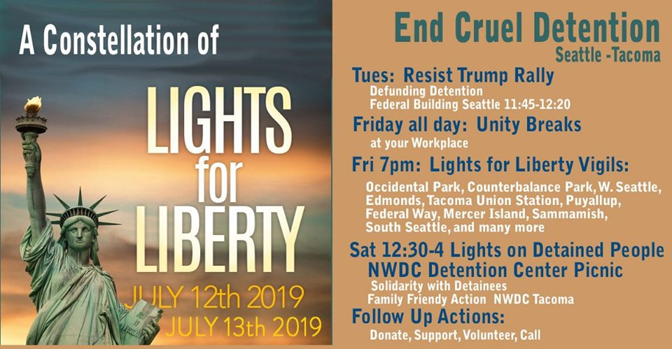 Lights for Liberty a Constellation of Lights Seattle Tacoma