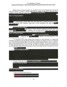 Mueller Report Live