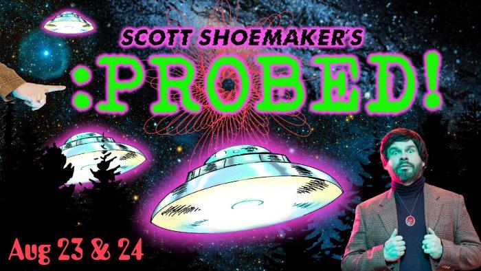 Scott Shoemaker has an itch that needs...PROBED! Photo credit Bronwen Houck