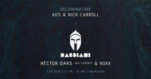 secondnature x Bassiani