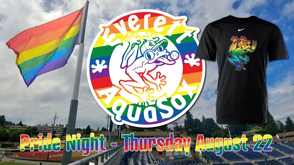 2nd Annual Pride Night AquaSox 19