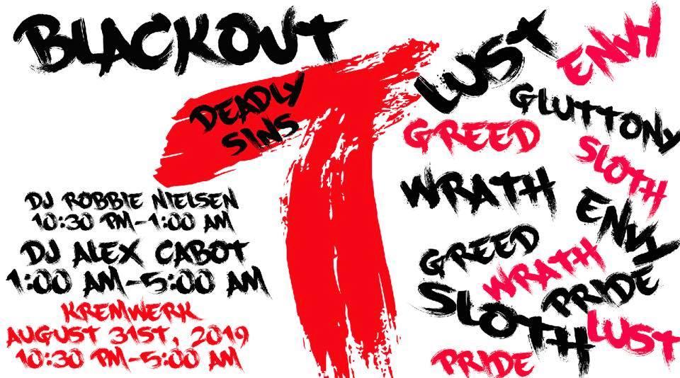Blackout 7 Deadly Sins