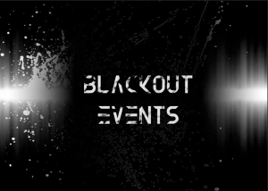 Blackout Dog Tag Party
