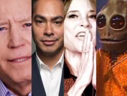 Uncle Joe Biden, Julian Castro, Guru Williamson and a Sleestak.