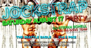 Jockstrap Party Aug 19