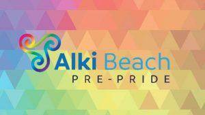alki beach pre pride 19
